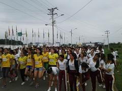 Alcaldía apoya la media maratón Chone Naranjos en Flor 2017