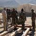 Australian Soldiers Build Bridge in Southern Afghanistan