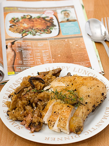Roasted Chicken with Glutinous Rice Stuffing | Instead of ro ...