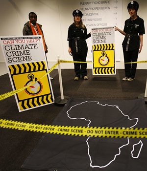 Activists at the UN Climate Summit in Copenhagen called on rich nations to support poor countries to reduce their emissions. China has challenged Africa to focus on climate change at the next summit in Durban. by Pan-African News Wire File Photos