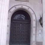 Birmingham Municipal Bank - Broad Street - metal door