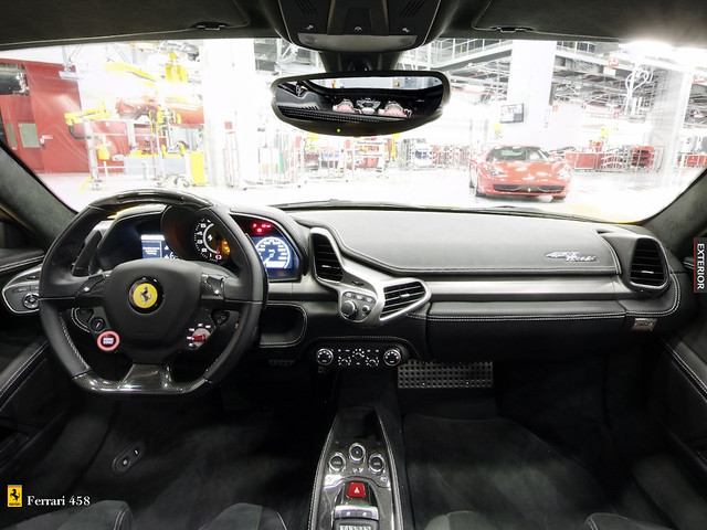 Ferrari 458 Italia Interior Inside | Flickr Photo Sharing!