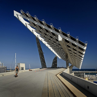 Spain - Barcelona - Solar Array - sq