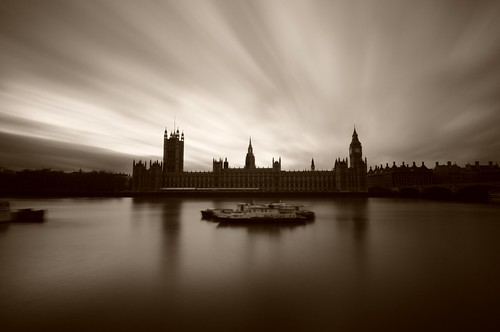Clouds over the Palace of Westminster