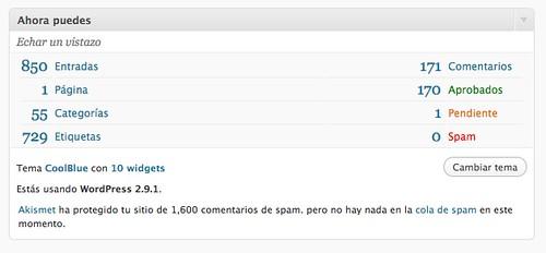 WordPress 2.9.1