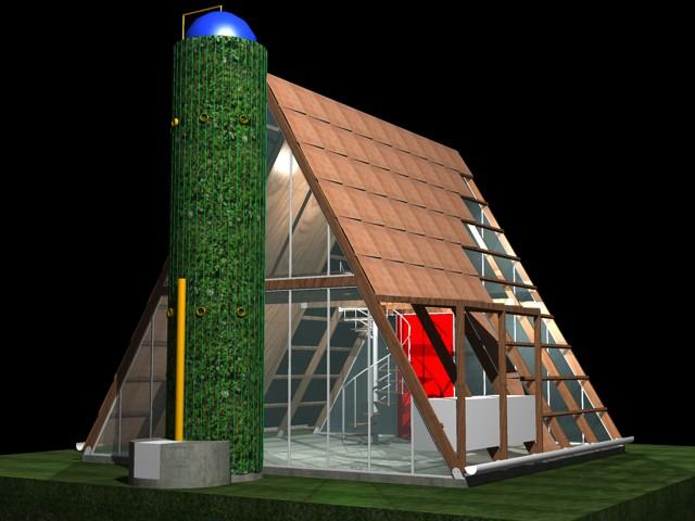 Casa ecol gica prefabricada img 09 explore el art fice - Casa ecologica prefabricada ...