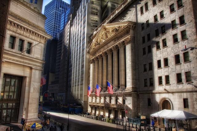 The Stock Exchange, NYC