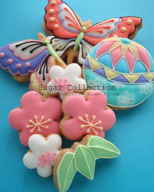 Japanese style cookies