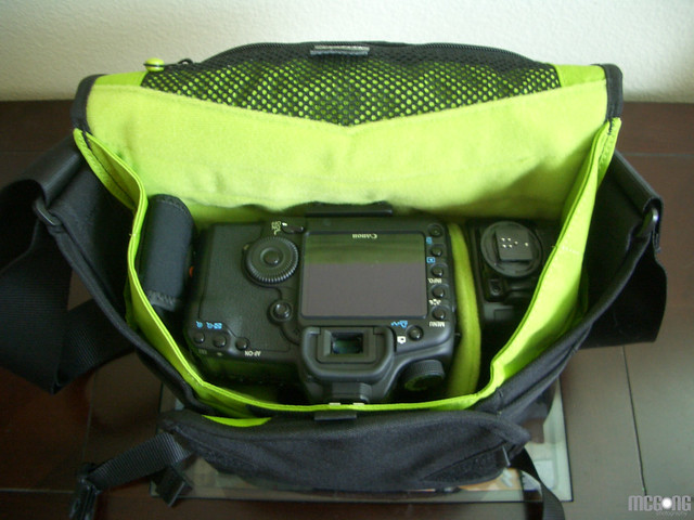Crumpler 5MDH and Gear - Top