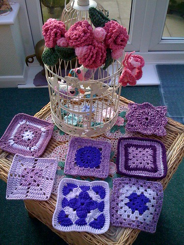 Pretty Squares from Molly. (USA).