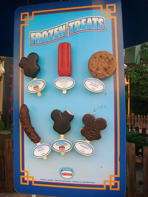 Frozen treats at disneyland resort flickr photo sharing