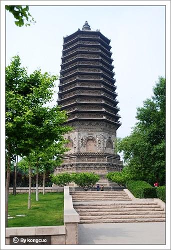 图:密檐式实心塔