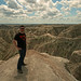 Me at the Badlands by Patrick Berden