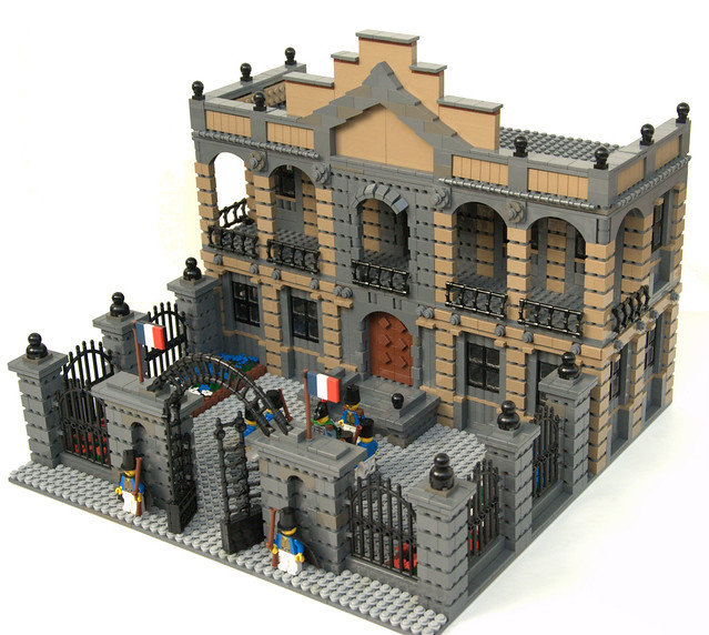 Lego Buildings A Gallery On Flickr