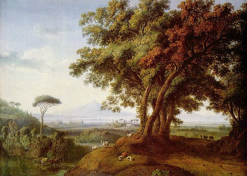 Hackert, Jacob Philipp (1737-1807) - 1778 Italian Landscape (Private Collection, Munich)