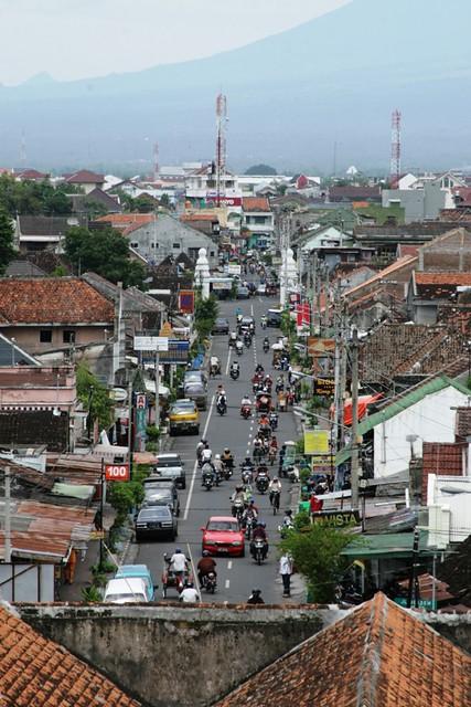 View from Taman Sari, Yogyakarta by CC user dmahendra on Flickr