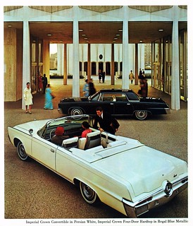 1966 Imperial Crown Convertible and Four-Door Hardtop