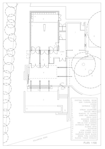 Funeral home floor plan flickr photo sharing for Funeral home blueprints