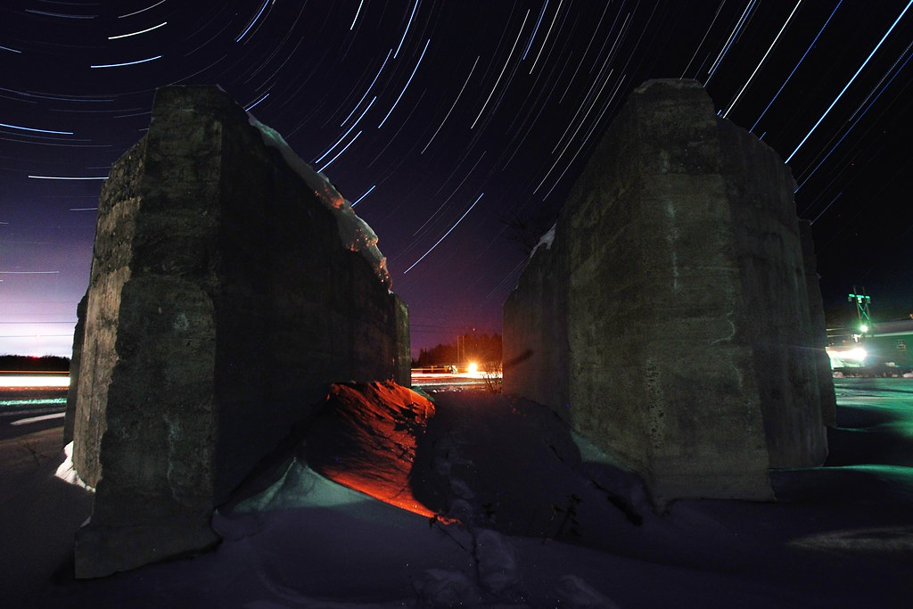 Stars Through the Rockhouse by dcclark
