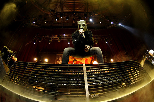Corey Taylor of Slipknot - All Hope Is Gone Tour @ Acer Arena