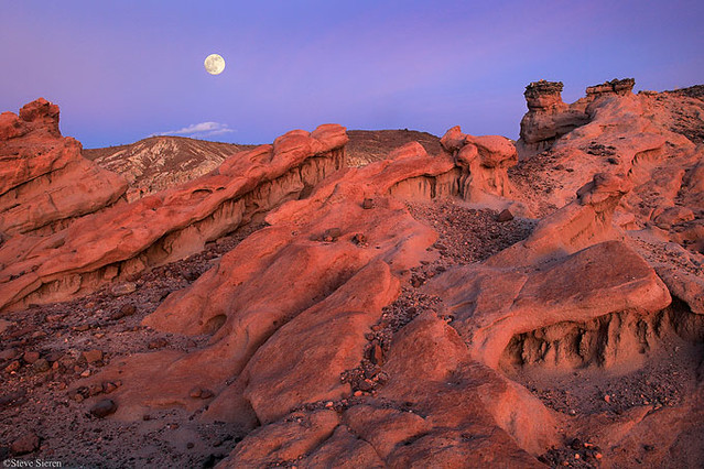 Red Rock Canyon California Moonscape