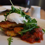 Sweetcorn Fritters - Jones the Grocer, Chadstone AUD9.50