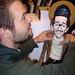 Artist Mike Leavitt sees inside R. Crumb's head!