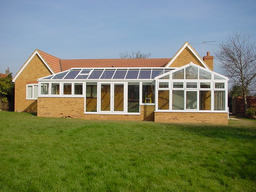 L Shape conservatory