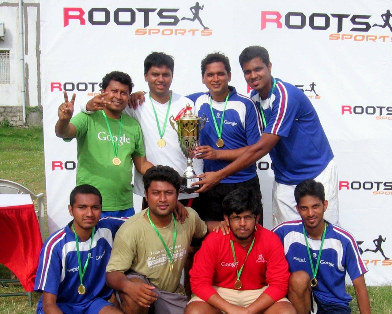 Google - Winner Platinum Cup