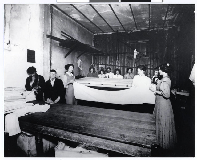 Workers in a small laundry plant, St. Paul