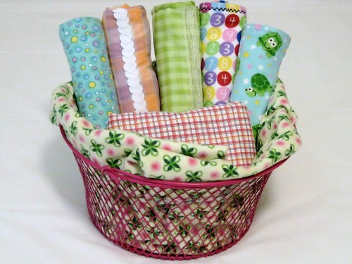 Little Girl May Basket