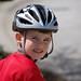 Biking in the nieghborhood