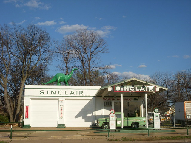 Sinclair Gas Station Flickr Photo Sharing