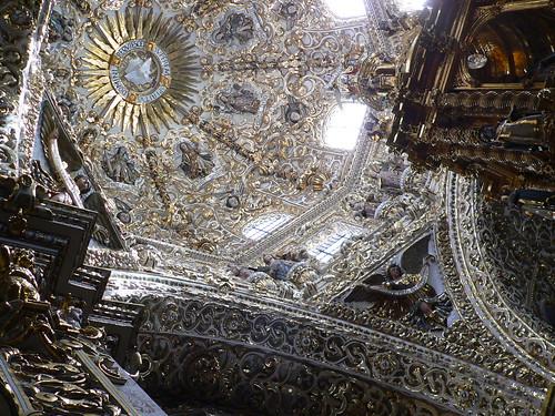 Templo de Santo Domingo - Capilla del Rosario - detail