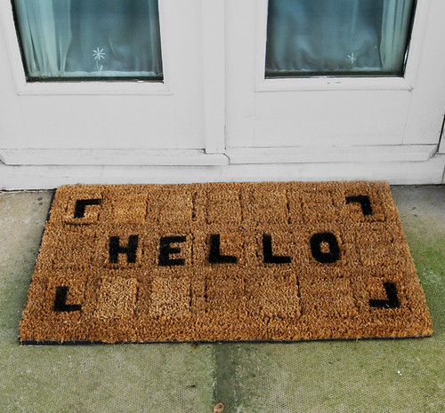 Jeni Rodger WELCOME MAT