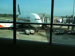 Singapore Arlines A380 9V-SKC