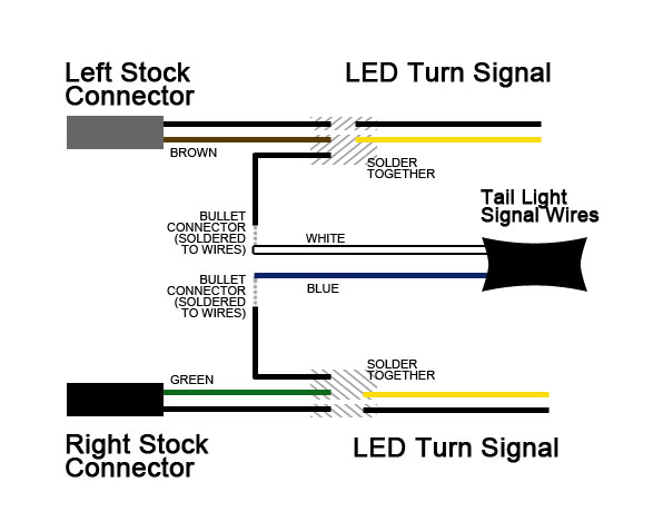 Gmc Sierra Turn Signal Wiring Diagram : Led turn signal wiring diagram free engine image for