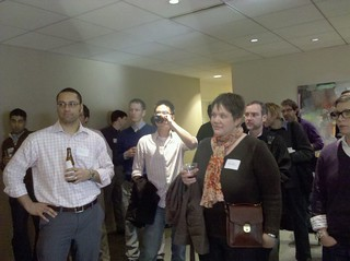 Crowd at Seattle Lunch 2.0 @Cooley