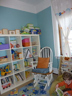 c's room - shelves