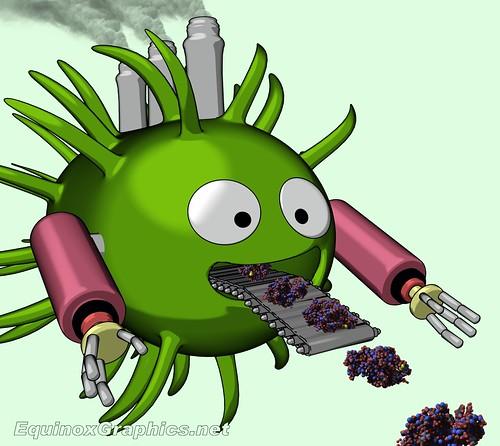 Bacterium Molecular Bio Factory