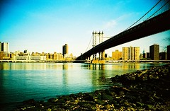 Manhattan Bridge from DUMBO, New York (LC-A)