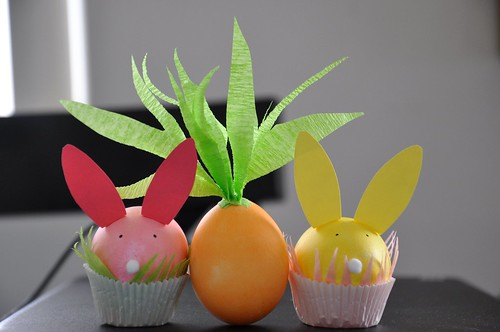Recycled Easter crafts