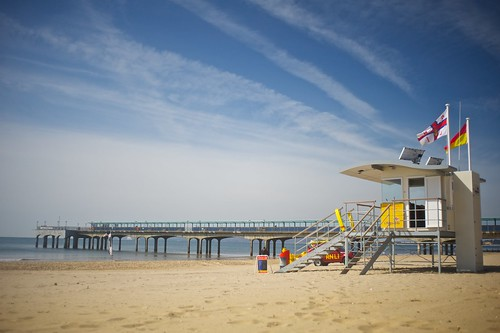 Lifeguard Station Boscombe Pier