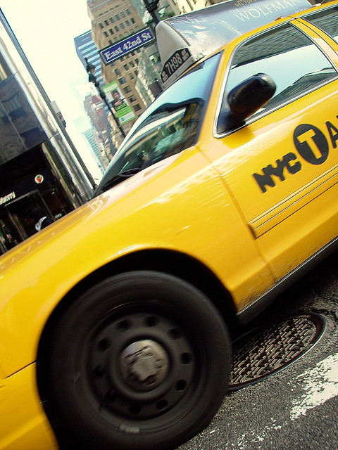 Taxi on 42nd Street | Flickr - Photo Sharing!