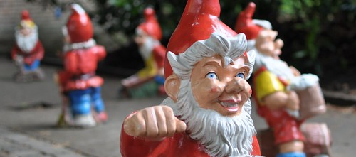 Gnomes in Nederlands Openluchtmuseum