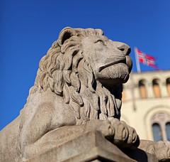 Stortinget Lion