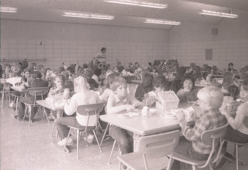 Roll 83_01.05 - Cafeteria During Elementary Lunch
