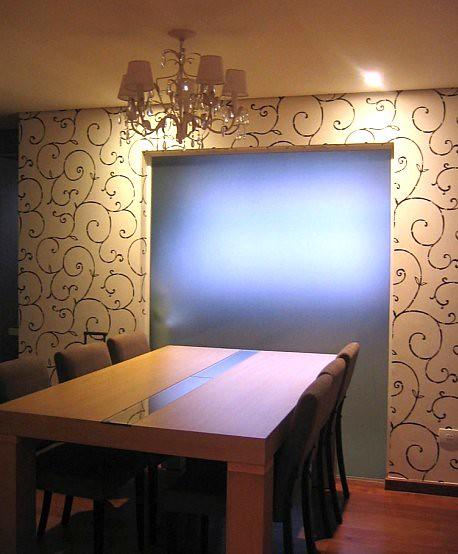 Decoração de apartamento com papel de parede  Flickr  Photo