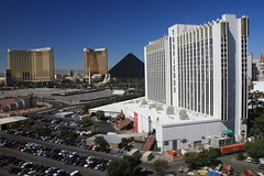 Mandalay Bay, THE Hotel, The Luxor & Tropicana