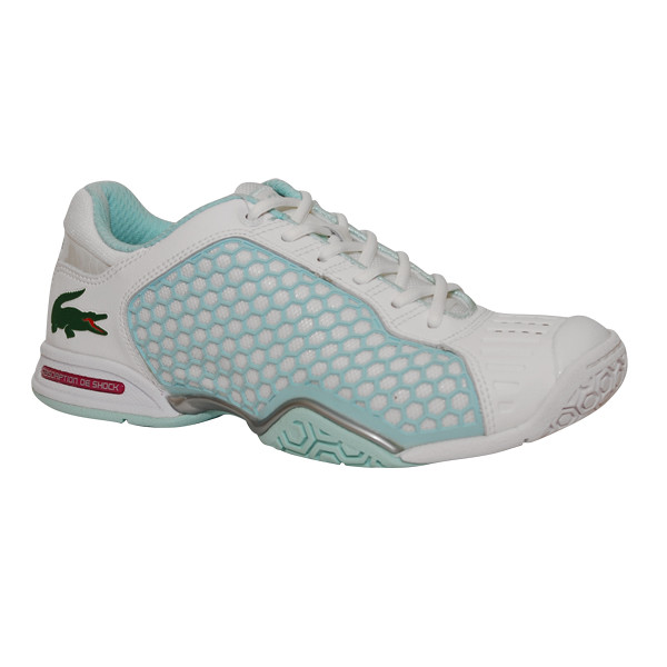 Women S T Tennis Shoes White And Aqua